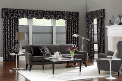 Custom-draperies-and-matching-valance-over-top-down-bottom-up-cellular-shades