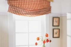 farm-country-style-valance-with-soft-roman-shade-in-checkered-print